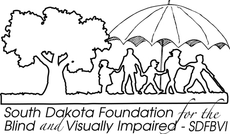 South Dakota School for the Blind and Visually Impaired Foundation Logo